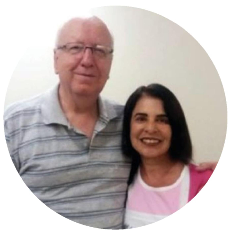 Larry Kendall Goulart e Deá Maria da Silva Goulard